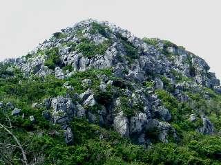 大岳山頂のカレン
