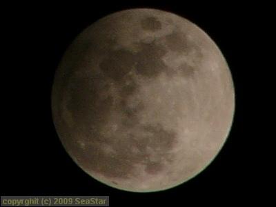 一番深い半影月食