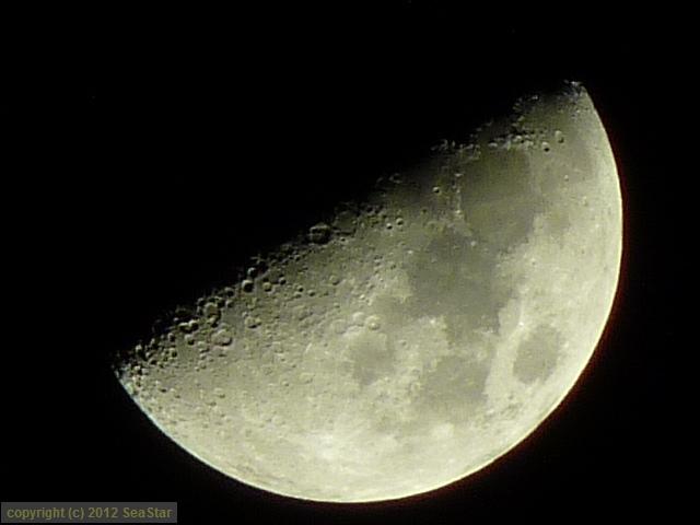 月面X適正露出