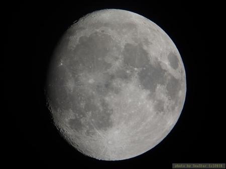2018年12月20日 19:32頃 月齢13.1 小望月