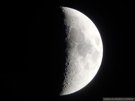 月面X;2019年01月13日22:10頃